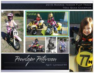 Penelope Autograph Card